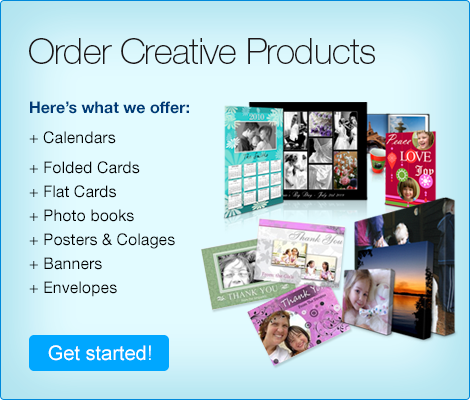 Order Creative Products